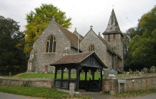 St Mary and Lych Gate. Please click for our services